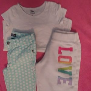 Other - OLD NAVY Jeans, Sweats, and a top - Mix.N.Match